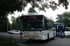 20. srpna 2008 - Iveco Citelis na lince číslo 1 přijíždí k zastávce Horní nádraží