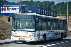 1. června 2008 - Iveco Citelis na konečné zastávce linky číslo 1 Globus